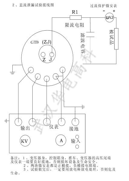 华电高科|干式试验变压器现场操作图