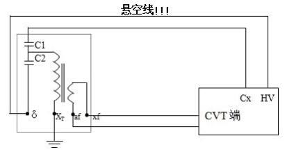 绝缘油介质损耗测试仪电容式电压互感器接线方法