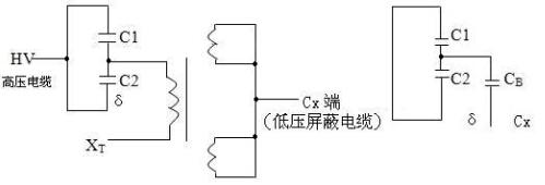 容式电压互感器接线方法