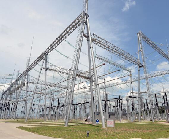 """第二座500千伏变电站,建成后阳江电网将形成""""两中心,四分区""""网架结构"""